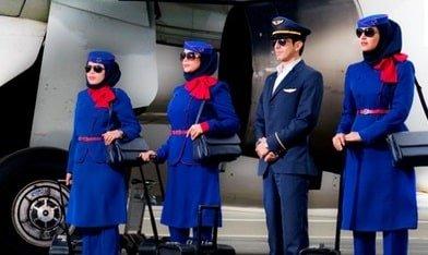 تولید لباس فرم آژانسهای هواپیمایی